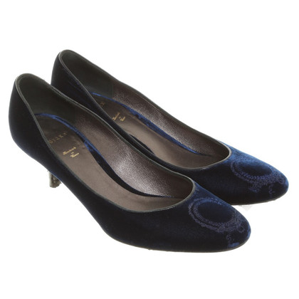 Unützer Velvet pumps in blue