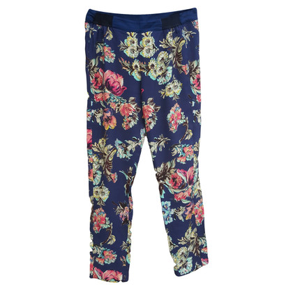 Antonio Marras trousers with floral pattern