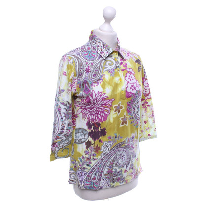 Etro Patterned blouse in multicolor