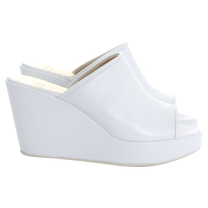 Walter Steiger Mules Wedge Plateau