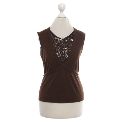 Escada Knit top in brown