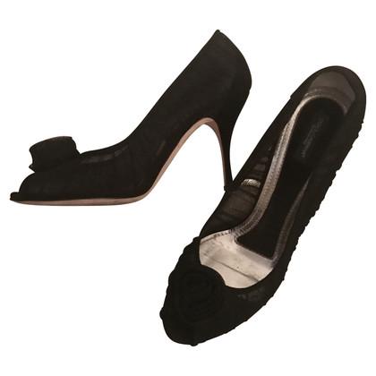 Dolce & Gabbana pumps D&G lace peeptoe
