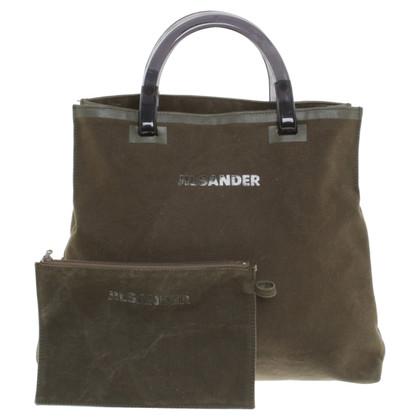Jil Sander Handbag in olive green