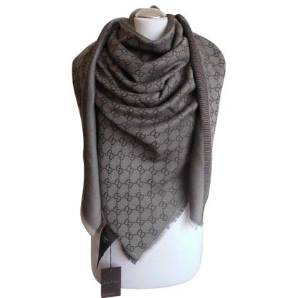 Gucci ggweb gucci scarf Brown new