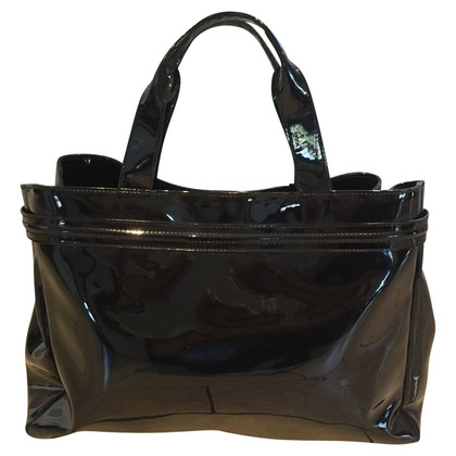 Armani Jeans shopper in vernice