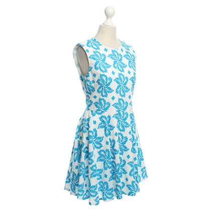 Diane von Furstenberg Dress in White / Blue