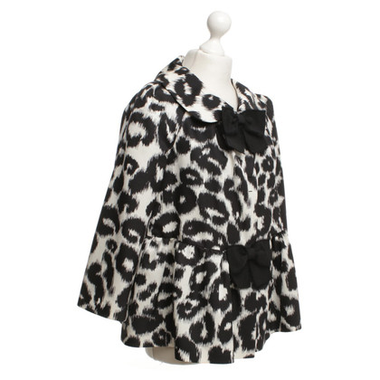 Giambattista Valli Jacke im Animal-Design