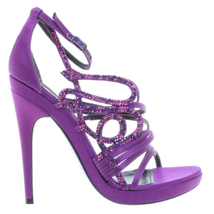 Roberto Cavalli High Heels purple