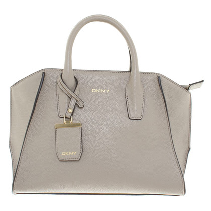 "DKNY ""Chelsea Vintage Style Small Tote Leather Soft Desert"""