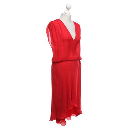 Haute Hippie Robe en rouge