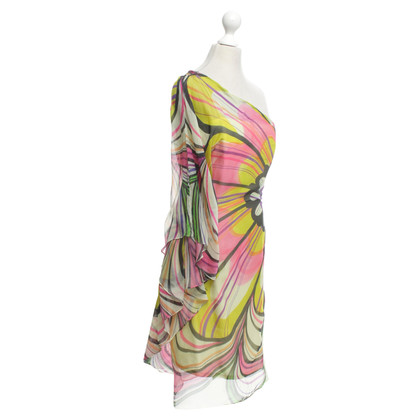 Milly Silk dress with pattern