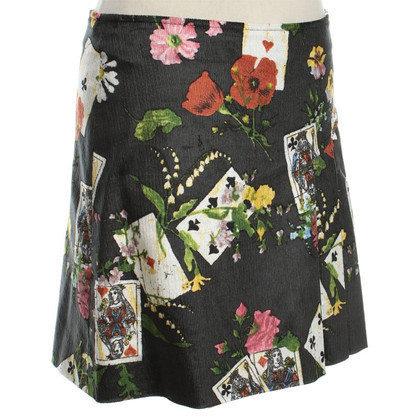 Christian Dior Miniskirt Cord