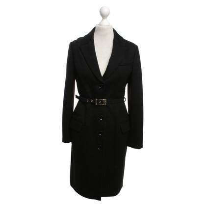 Versace Cappotto in nero