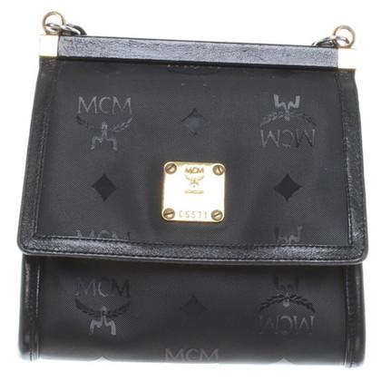 MCM Hand bag with logo print