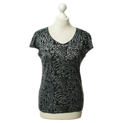 Armani Collezioni Black top with glitter details