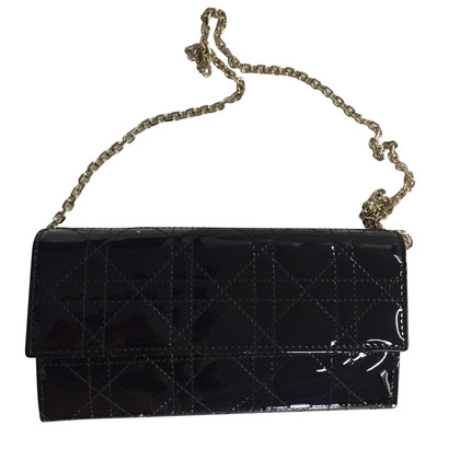 Christian Dior Wallet with carrying chain