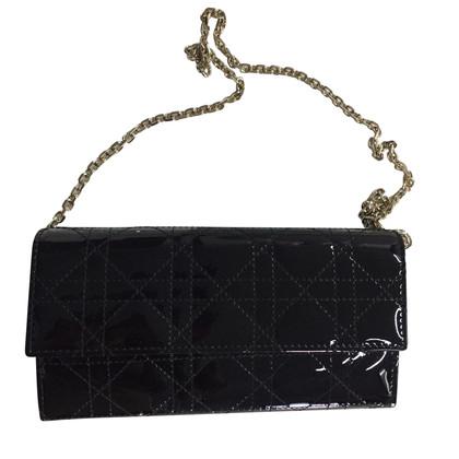 Christian Dior Portemonnaie mit Tragekette
