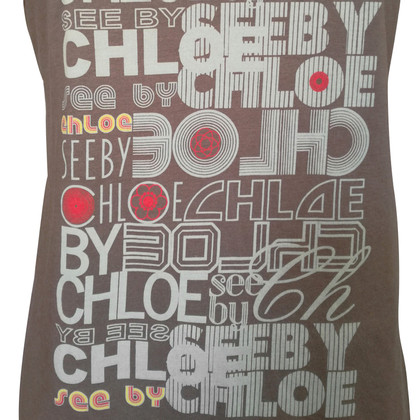 See by Chloé Top with colorful print