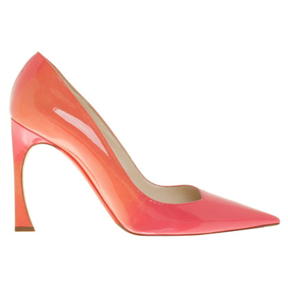 Christian Dior pumps with color gradient