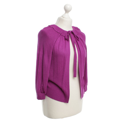 Hugo Boss Strickcardigan in Fuchsia