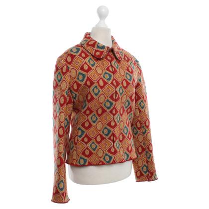 Alaïa Blazer in lana con motivo