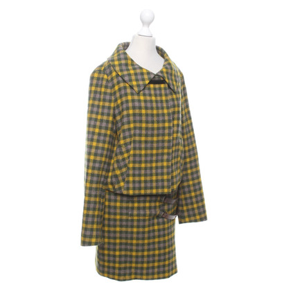 Laurèl Costume with check pattern