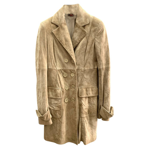 Dondup Giacca in pelle scamosciata Second hand Dondup