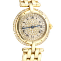 Cartier Gold watch Cartier Panthere