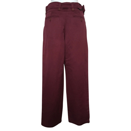 Dries van Noten Pantalon à jambe large