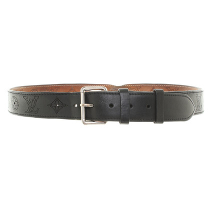 Louis Vuitton Monogram perforated leather belt