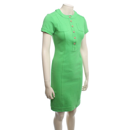 Diane von Furstenberg Abito a manica corta in verde chiaro