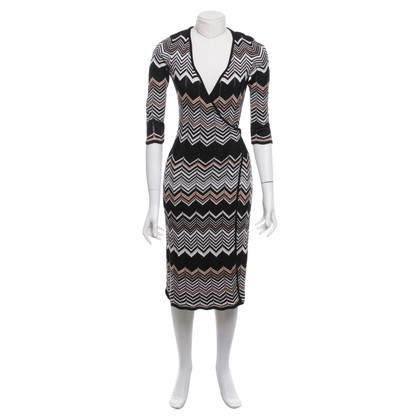 Missoni Wrap dress with pattern