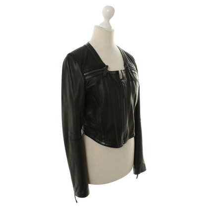Barbara Bui Leather jacket in black