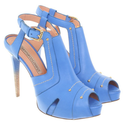 Gianmarco Lorenzi High Heels in blauw