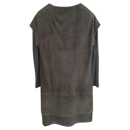 Brunello Cucinelli Dress Suede