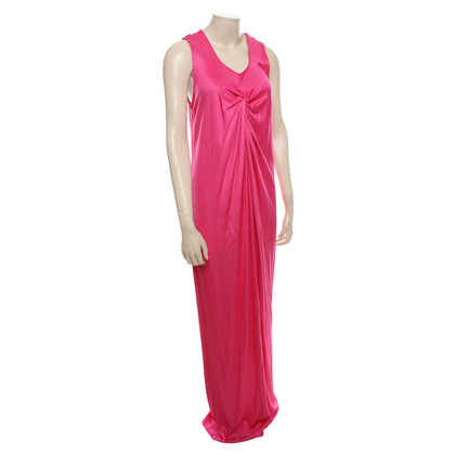 Escada Maxikleid in Pink