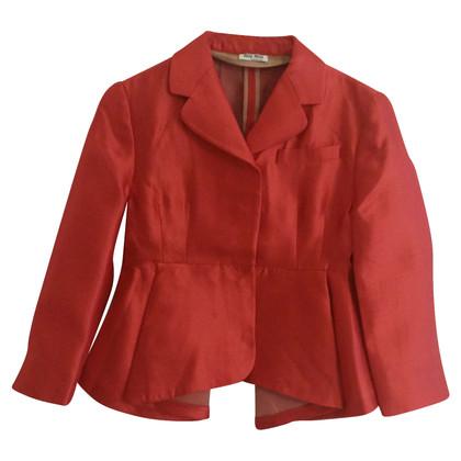 Miu Miu Rode blazer