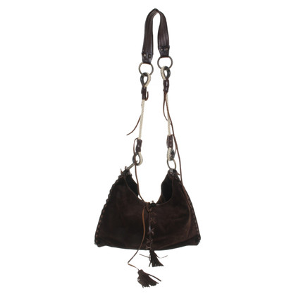 Dolce & Gabbana Shoulder bag made of suede leather