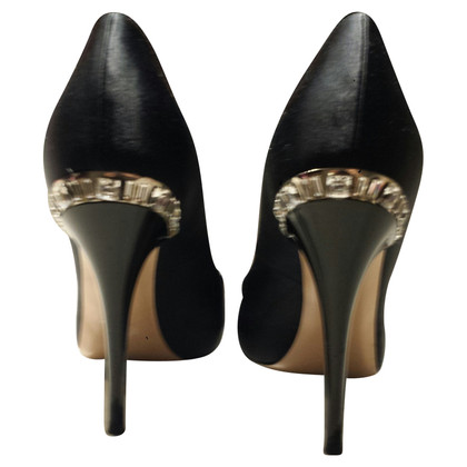 Gianvito Rossi Satin-Pumps