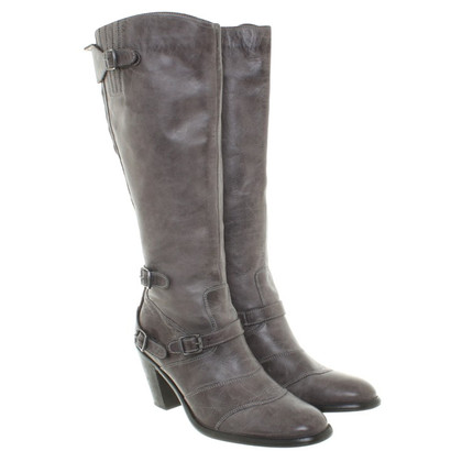 Belstaff Boots in Gray