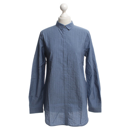 Hugo Boss Cotton blouse in blue