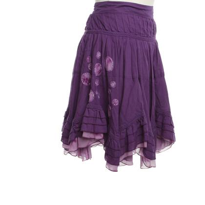 Jean Paul Gaultier skirt in Violet
