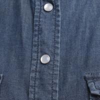 Max & Co camicia di jeans in azzurro