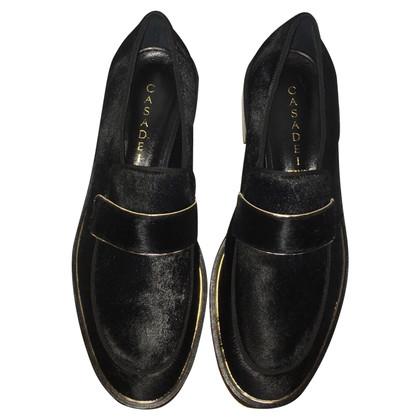 Casadei Zwarte mocassins