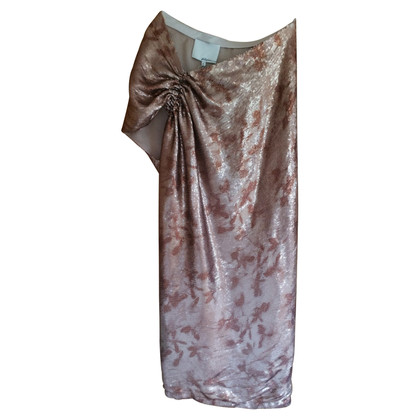 3.1 Phillip Lim Roségoldfarbenes Sequin Dress