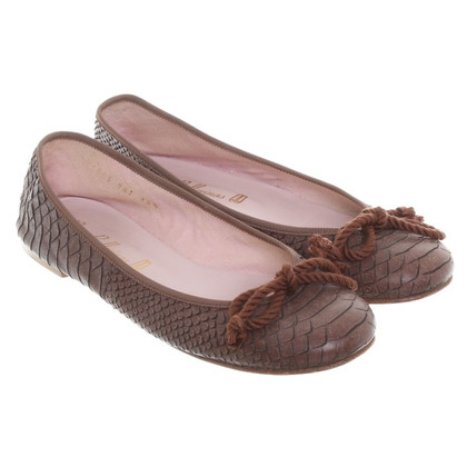 Pretty Ballerinas Ballerina in rettile finish