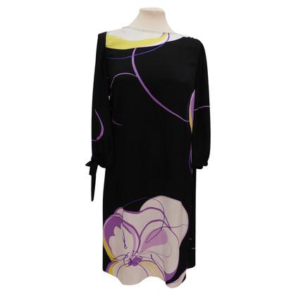Elie Tahari zijden jurk met print