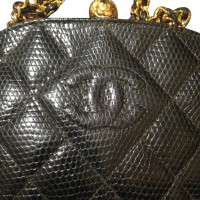 Chanel Vintage lizard leather handbag