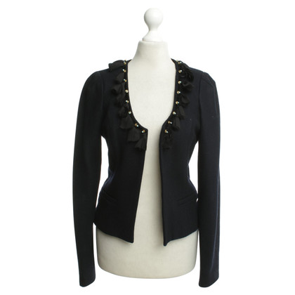 Maison Scotch Blazer mit Applikation