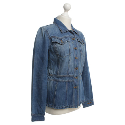 DKNY Denim jas in blauw